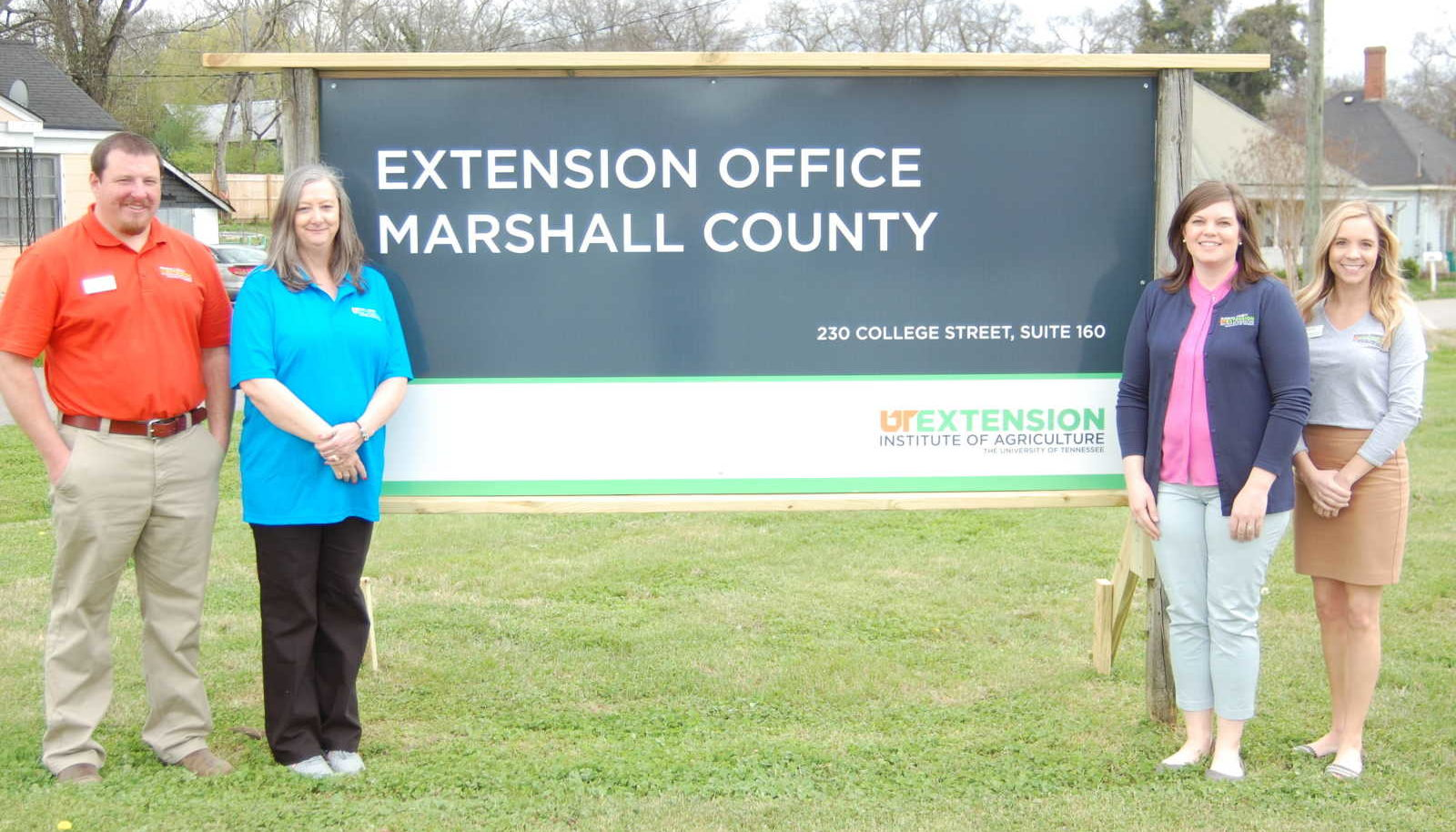 Marshall County Extension Office group photo