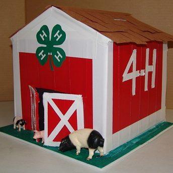 4H Red barn